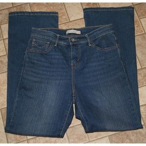 Levi's perfectly slimming boot cut 512 jeans 6S